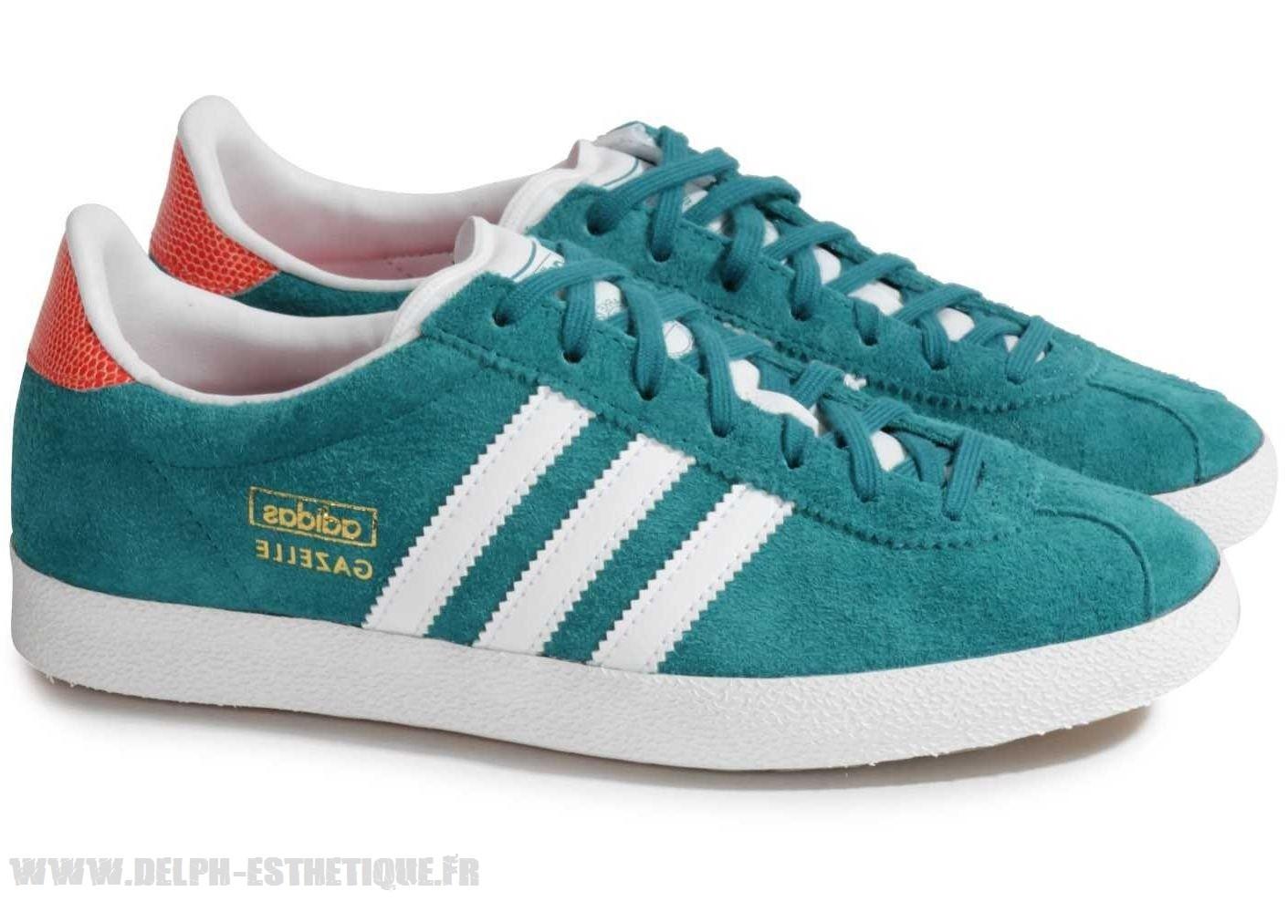 adidas gazelle turquoise