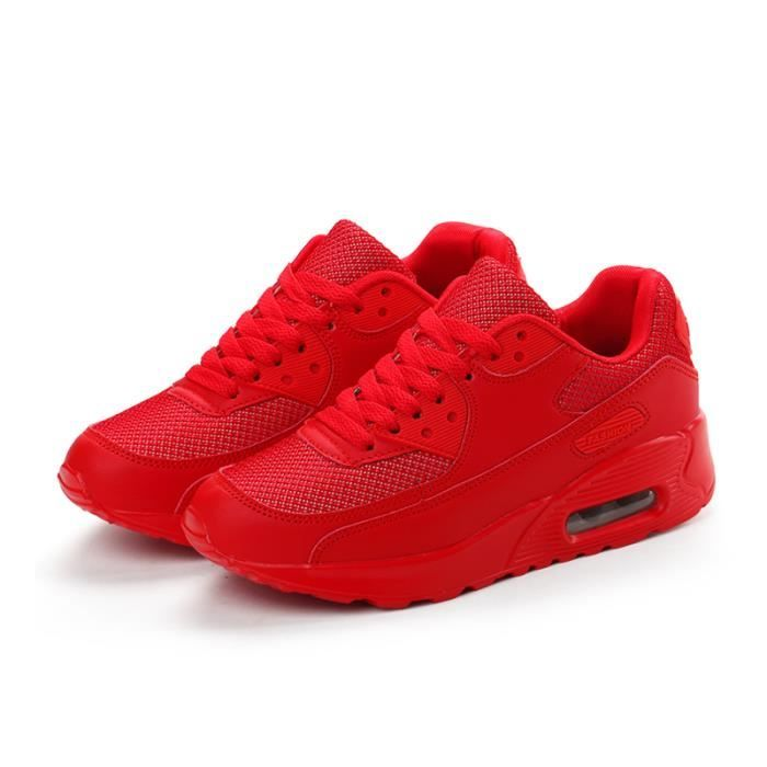 chaussure adidas femme rouge