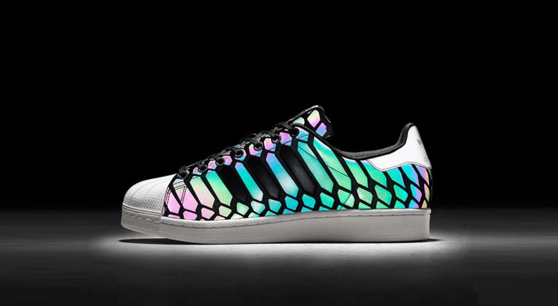 chaussure adidas qui change de couleur