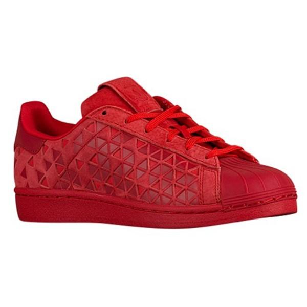 adidas superstar rouge sneakers