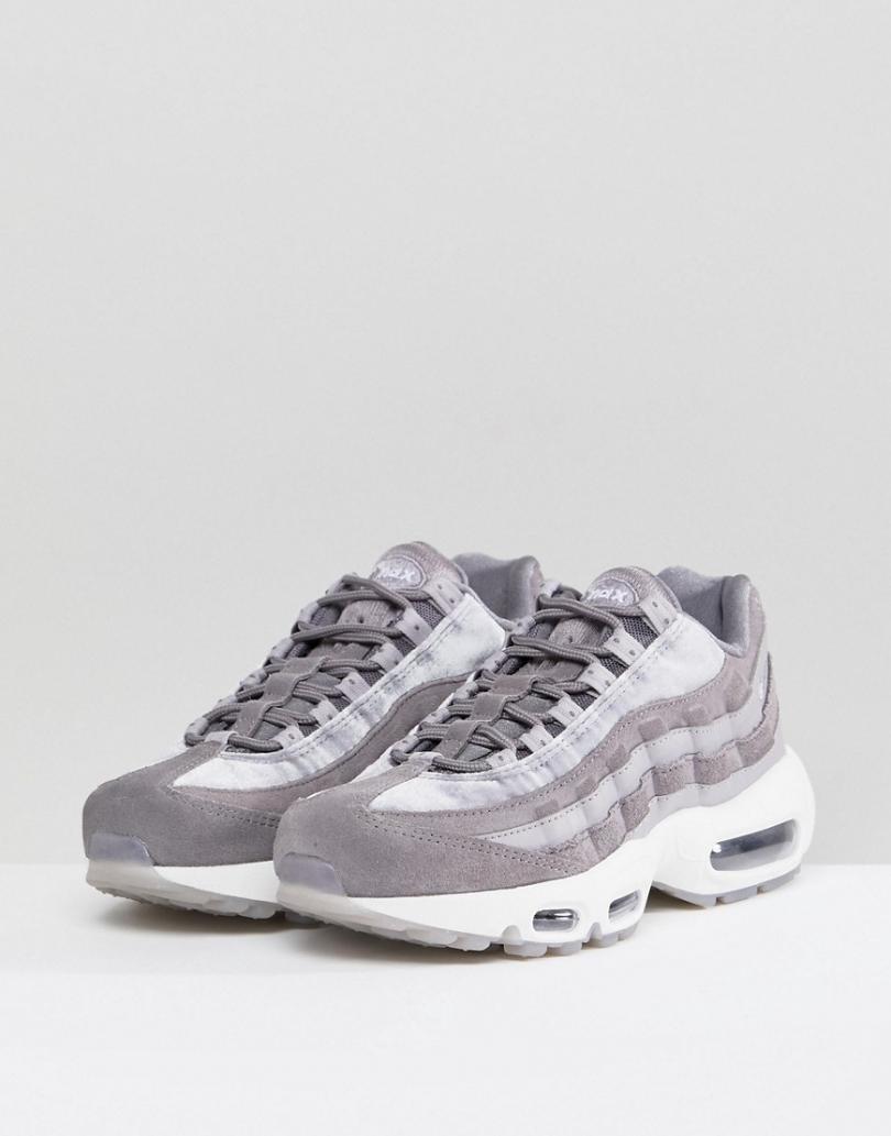 air max 95 femme gris
