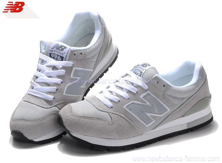 chaussures new balance gris