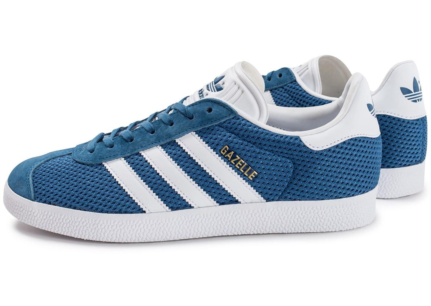 chaussures adidas hommes bleu