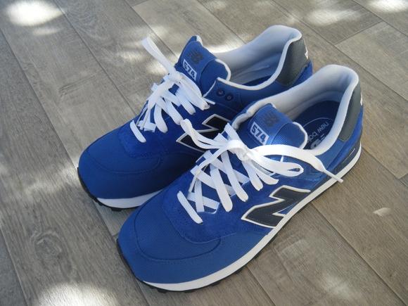new balance bleu electrique femme