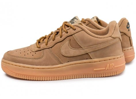 nike air force 1 marron femme