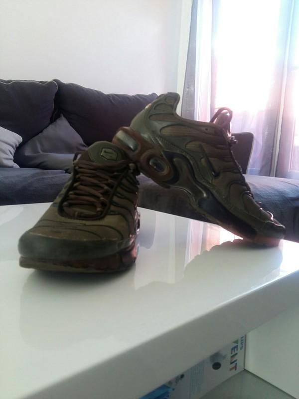 chaussure nike vert kaki